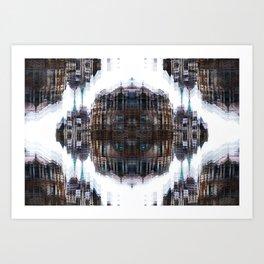 London Kaleidoscope Art Print