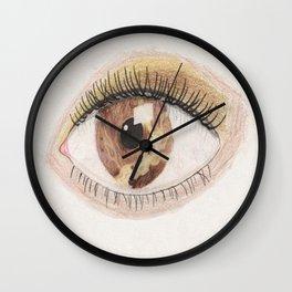The Eye Sees Venus Wall Clock