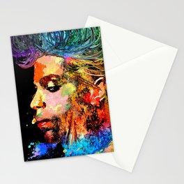 Prince Profile Grunge Stationery Cards