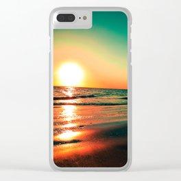 Rota Spain Beach Clear iPhone Case