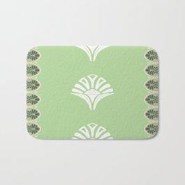 S6 Abbey Chic Classique Pattern (green) Bath Mat