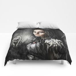 Northern Wolf Comforters