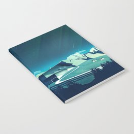 Alpine Hut Notebook