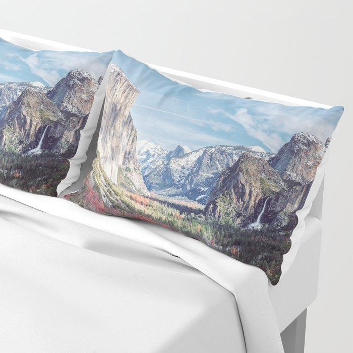 Tunnel View Yosemite Valley Pillow Sham