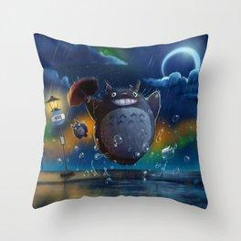 Studio Ghibli: My Neighbour Totoros Throw Pillow