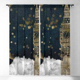 Cloud Cities London Blackout Curtain