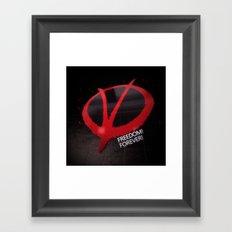 Freedom Forever Framed Art Print