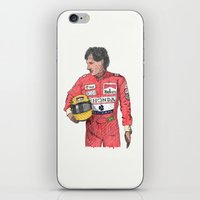 senna iPhone & iPod Skins featuring SENNA  by calds29