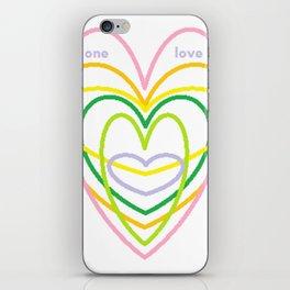 One Love II iPhone Skin