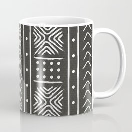 Another black mud cloth Coffee Mug