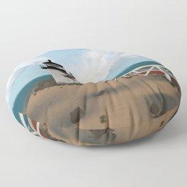 Brant Point Light Floor Pillow