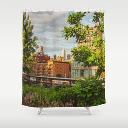 I'm Going Home Shower Curtain