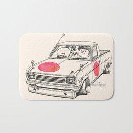 Crazy Car Art 0169 Bath Mat
