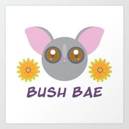 Bush Bae Art Print