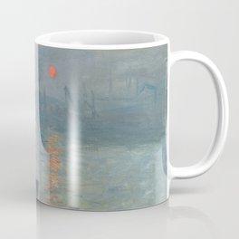 Impression Sunrise Painting by Claude Monet Coffee Mug