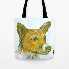 Jack Russell printed from an original painting by Jiri Bures Tote Bag
