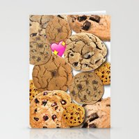 cookies Stationery Cards featuring Cookies by jajoão