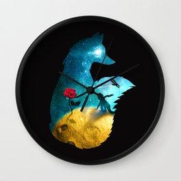 The Most Beautiful Thing (dark version) Wall Clock
