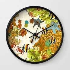 The Great Barrier Reef Wall Clock