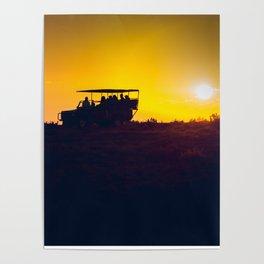 Morning African Safari Poster