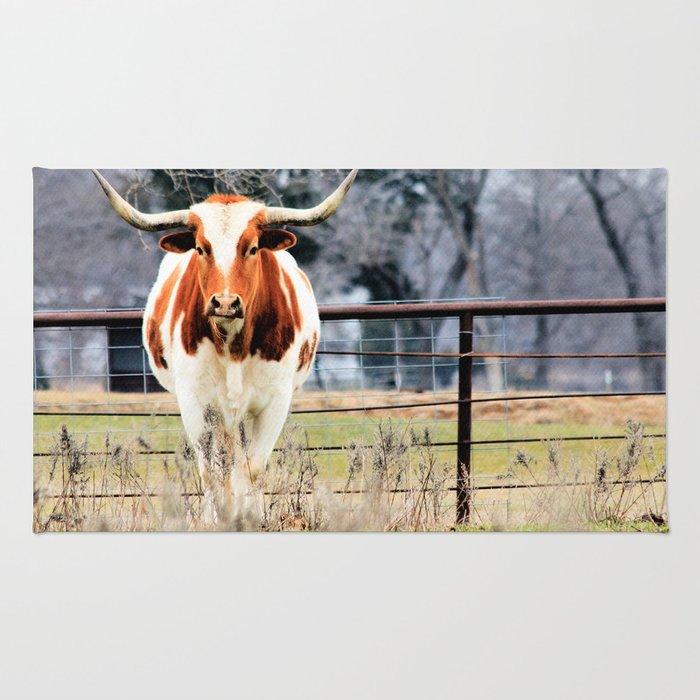 Texas Longhorn Morning Rug