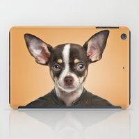 chihuahua iPad Cases featuring Chihuahua  by Life on White Creative