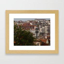 Lisbon, Portugal Framed Art Print