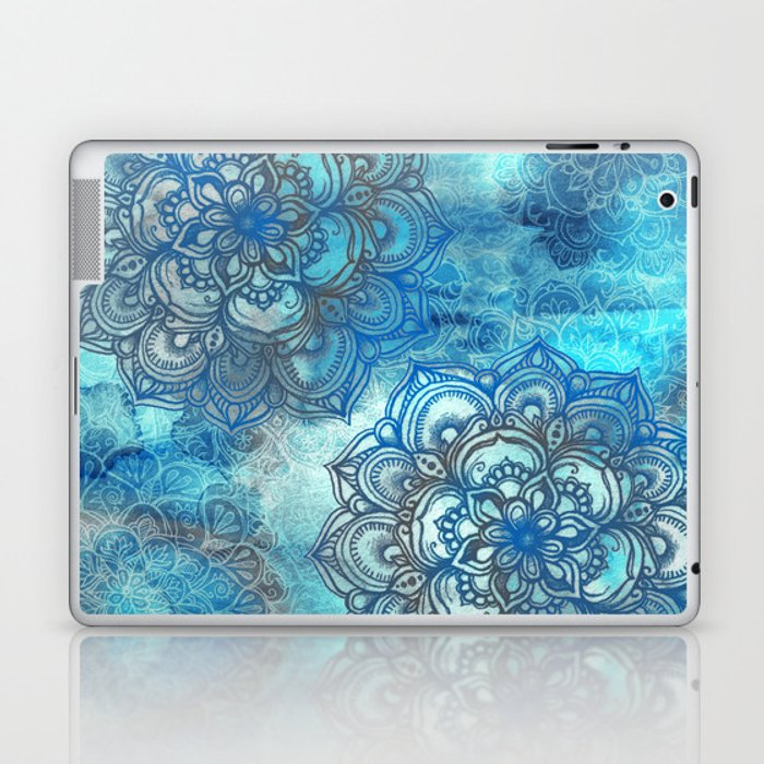 Lost in Blue - a daydream made visible Laptop & iPad Skin