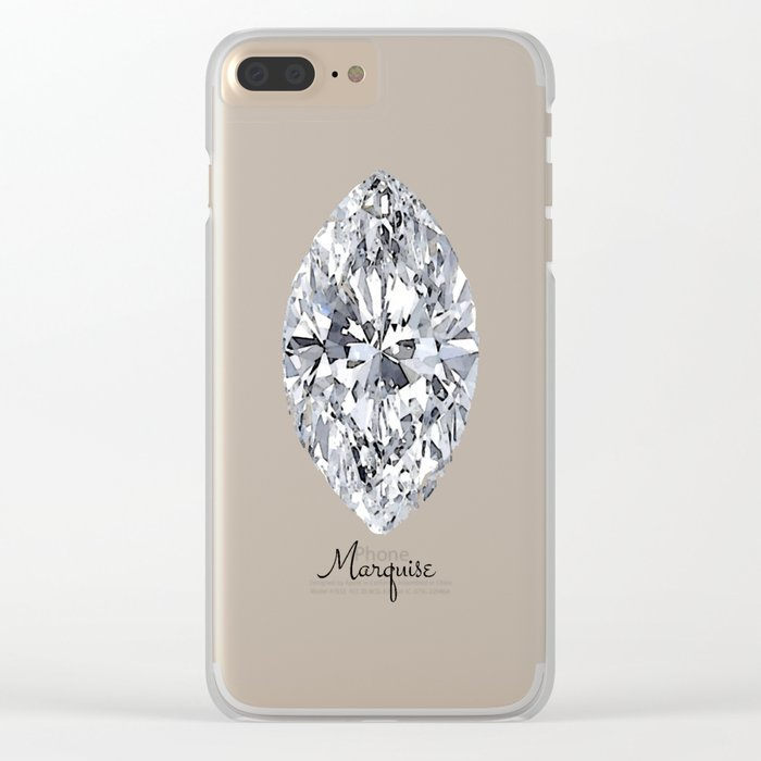Marquise Clear iPhone Case