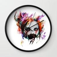 harley Wall Clocks featuring Harley Q by ururuty