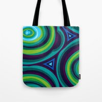 malachite Tote Bags featuring Malachite by Alex Morgan