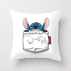 imPortable Stitch... Throw Pillow