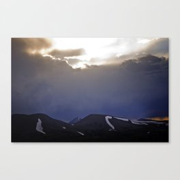 He Wishes for the Cloths of Heaven Canvas Print