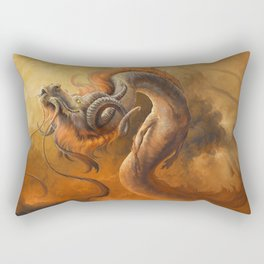 Morning Stroll Rectangular Pillow