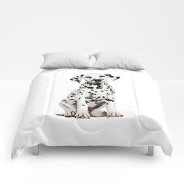 Cute Dalmatian 6 Comforters