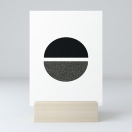 Abstract Circle Mini Art Print