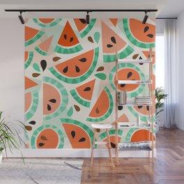 Watermelon festival Wall Mural