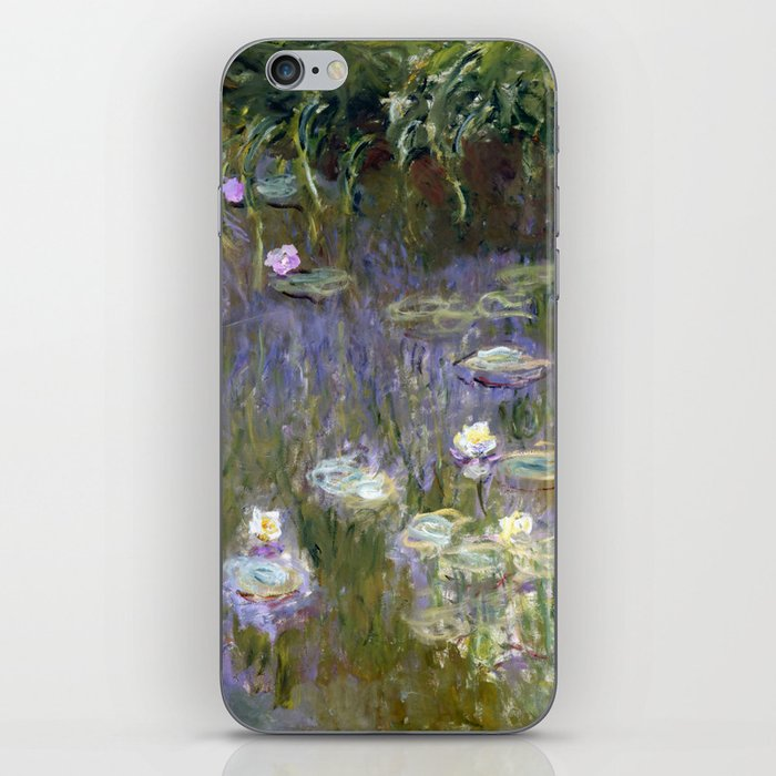 "Claude Monet ""Water lilies""(2) iPhone Skin"