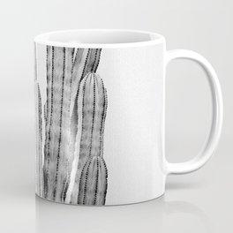 Cactus 3 - Black & White Coffee Mug