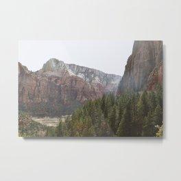 Zion V Metal Print