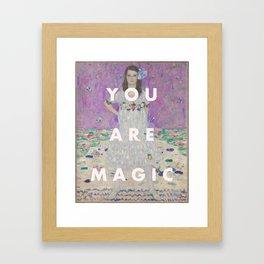 YOU ARE MAGIC Framed Art Print