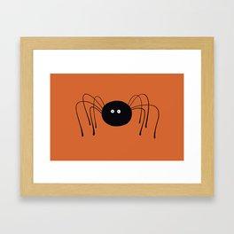 Lonely Spider Framed Art Print