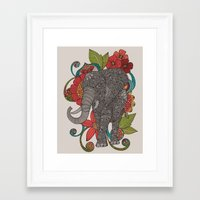 ruby Framed Art Prints featuring Ruby by Valentina Harper