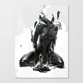 Black Mamba Canvas Print