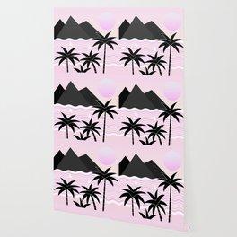 Hello Islands - Pink Skies Wallpaper