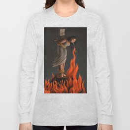 Keep Cool Oil Painting Long Sleeve T-shirt
