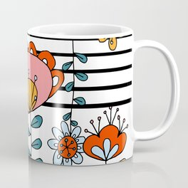 Folk Dance - Stripe Coffee Mug