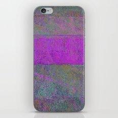 pink static iPhone & iPod Skin