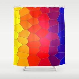 Coloured Mosaic Shower Curtain
