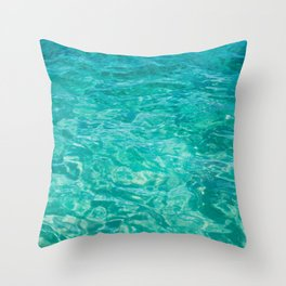 Cabo Water Throw Pillow